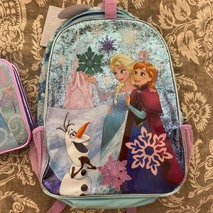 Disney Frozen Backpack and pencil case